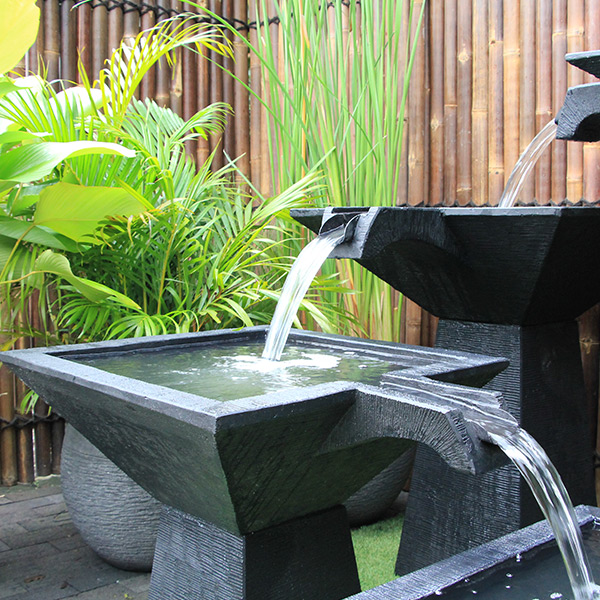 outdoor water features melbourne garden fountains sydney brisbane