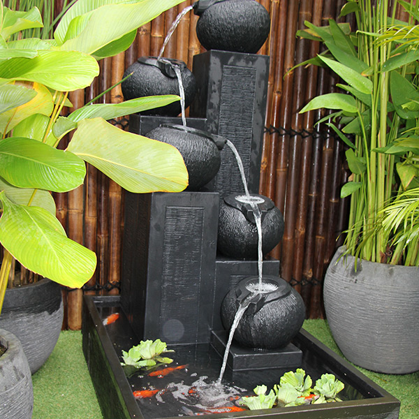 Streaming Pots Fountain – Large